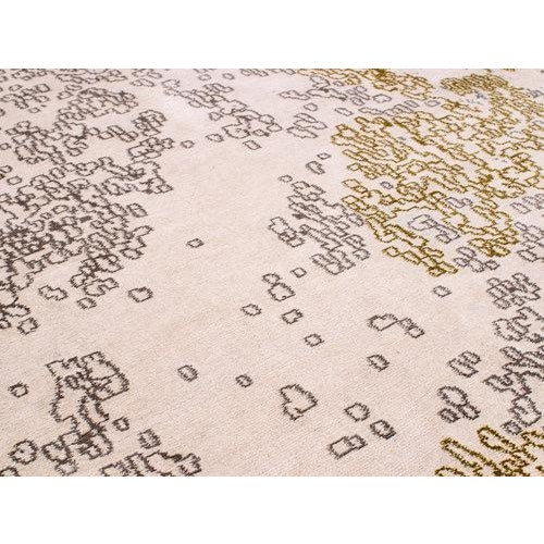 Contemporary Organic Contemporary Area Rug in Silk and Wool by Carini, 10'x14' For Sale - Image 3 of 5