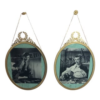 French Pictures Frames - a Pair For Sale