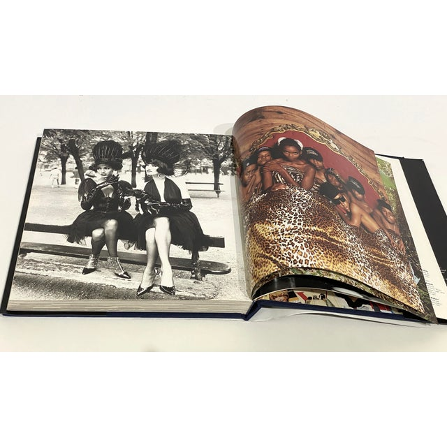 """""""On the Edge: Images From 100 Years of Vogue"""" Book 1st Edition 1992 Design Center Sample Copy For Sale In West Palm - Image 6 of 12"""