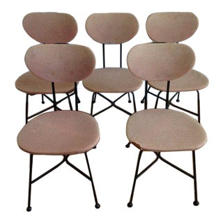Mid Century Modern Troy Sunshade Minimalist Chairs - Set of 5