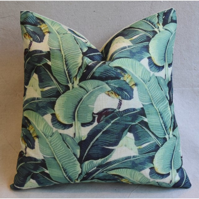 Banana Leaf Pillows - A Pair - Image 5 of 5