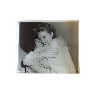 Ingrid Bergman and Gregory Peck Vintage 1945 Candid Photograph For Sale