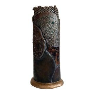 Contemporary Ceramic Vase For Sale