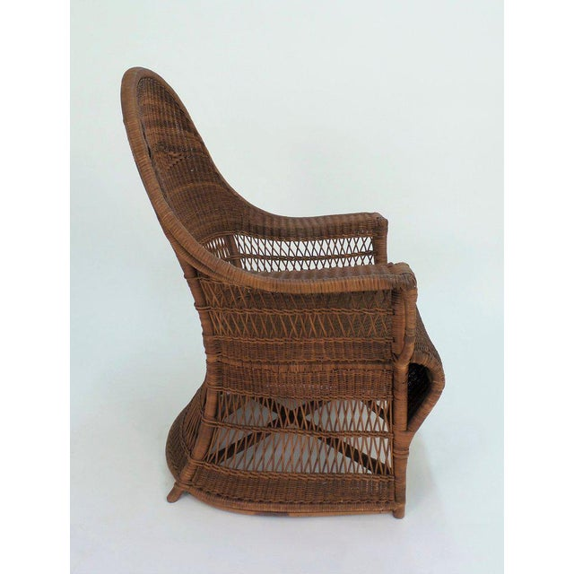 """Arts & Crafts """"Guests Welcome"""" Chair by Dryad & Co. For Sale - Image 3 of 8"""