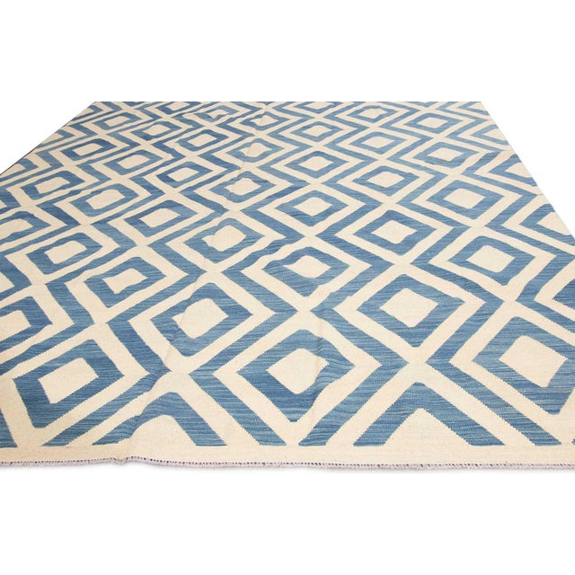 Contemporary 21st Century Modern Kilim Rug For Sale - Image 3 of 6