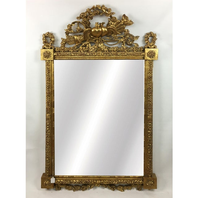 Early 20th Century 20th Century Italian Botanical Gilt Wood Frame For Sale - Image 5 of 5