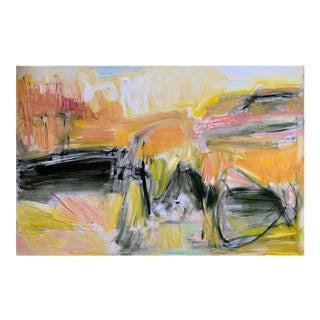 """""""Exploring Zion"""" by Trixie Pitts Large Abstract Expressionist Oil Painting For Sale"""