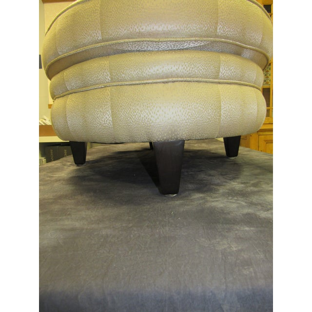 Wood Ottoman by Donghia For Sale - Image 7 of 9