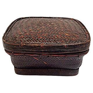 Ifugao Tribe Grain Basket For Sale