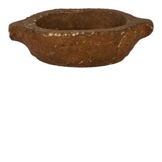 Antique Indian Stone Planter For Sale