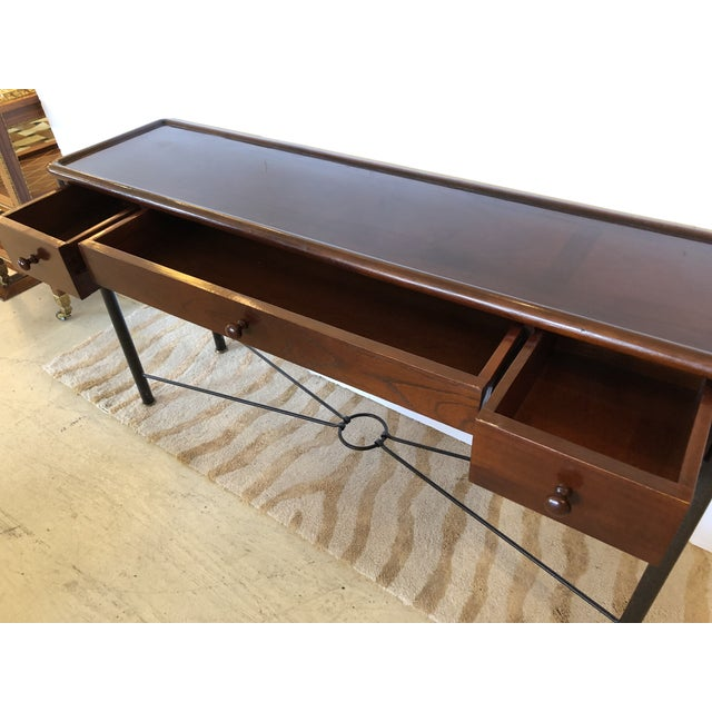 Grange Mahogany Console Sofa Table by Grange For Sale - Image 4 of 13
