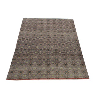 """Contemporary Afghan Rug - 7'10""""x10' For Sale"""