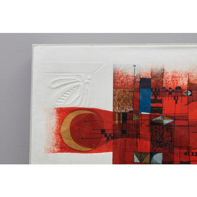 Gray Alvar Sunol Munoz-Ramos, Untitled, Signed and Numbered, # 63/80, 1980 For Sale - Image 8 of 12