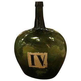 French Vineyard Wine Bottle For Sale