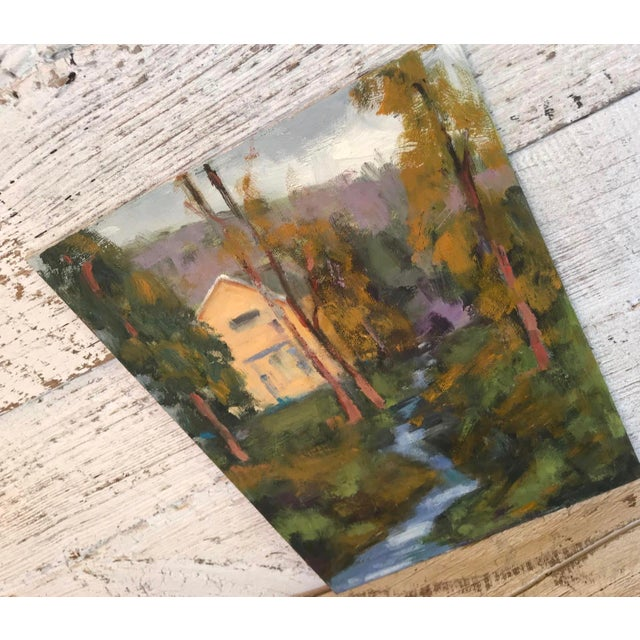2010s Amador Creek Plein Air Oil Painting For Sale - Image 5 of 6