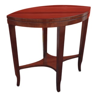 Kindel Traditional Spear Side Table For Sale