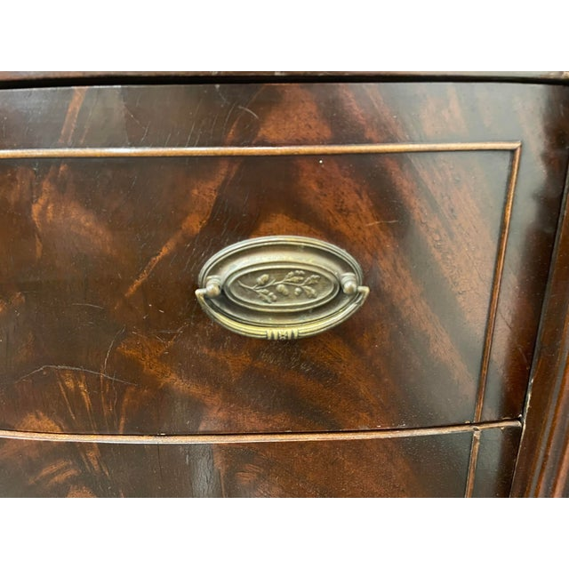 1950s Vintage Sheraton Mahogany Sideboard For Sale - Image 5 of 9