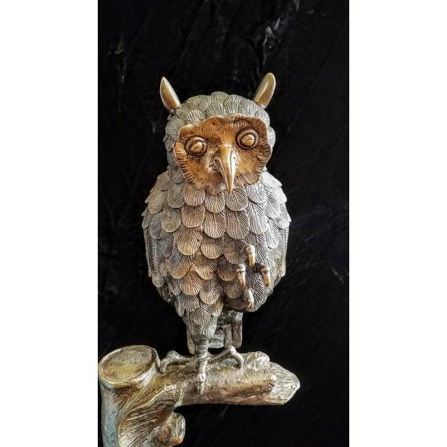 Brass Owl Figureine - Image 3 of 4