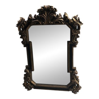 Hollywood Regency Wall Mirror For Sale