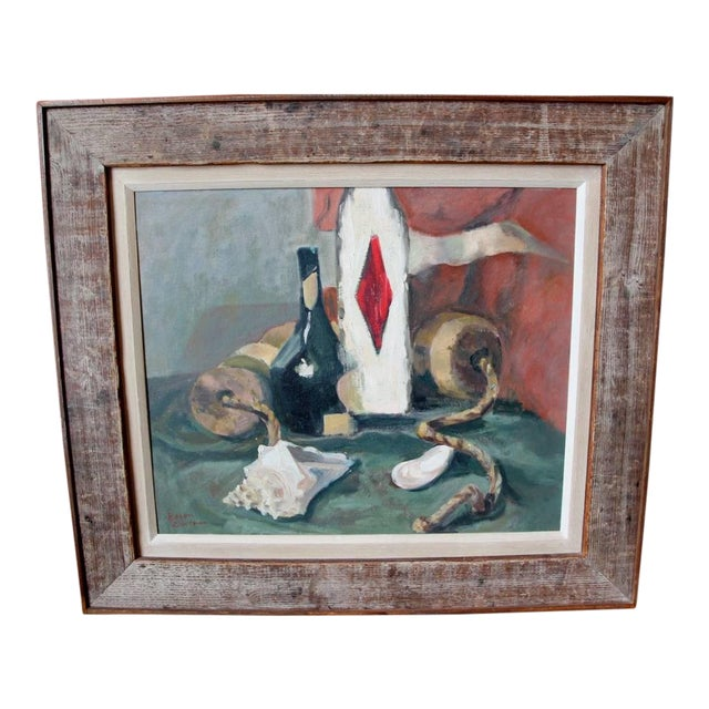 Still Life Oil Painting by Eileen Goodman For Sale