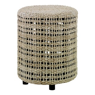 Century Furniture Wayward Woven Ottoman For Sale