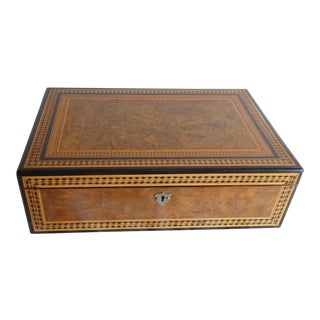 19th Century Anglo Indian Inlay Lap Desk For Sale