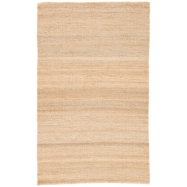 Jaipur Living Hutton Natural Solid Beige Area Rug - 5' X 8' For Sale In Atlanta - Image 6 of 6