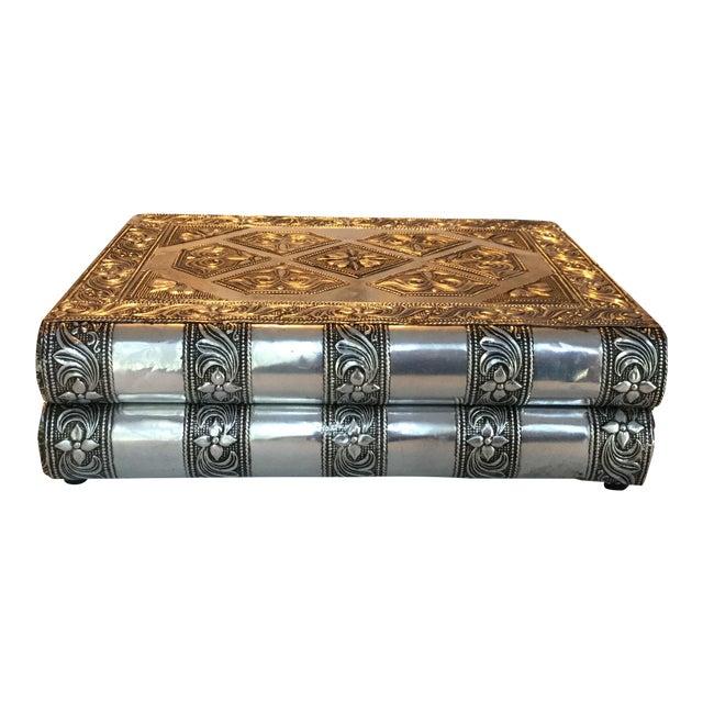 Silver Metal Jewelry Box - Image 1 of 11