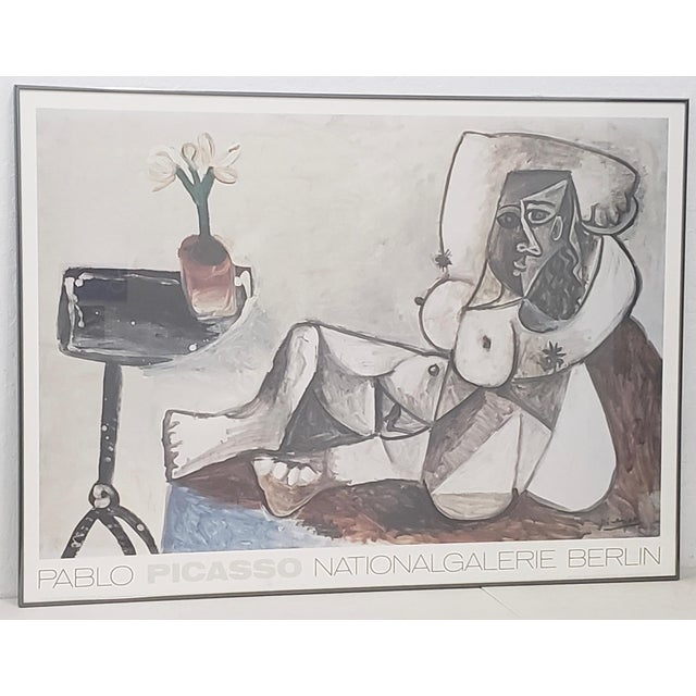 "Vintage Large Scale Picasso ""National Galerie, Berlin"" Exhibition Poster C.1989 For Sale - Image 9 of 9"