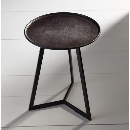 Petite in scale and made to compliment any setting, the Carson side table is a must-have accent. With a subtle curve...