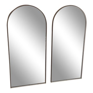 Antique Mid Century Mirrors - a Pair For Sale