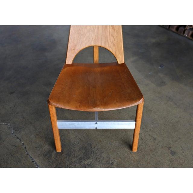 Metal Leon Meyer Studio Occasional Chair, Circa 1977 For Sale - Image 7 of 10