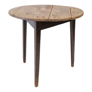 English Pine Cricket Table For Sale