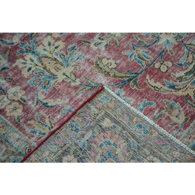 "Vintage Meshed Carpet - 9'3"" X 13' For Sale In New York - Image 6 of 8"