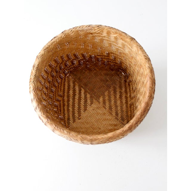 Vintage Indonesian Basket - Image 6 of 9