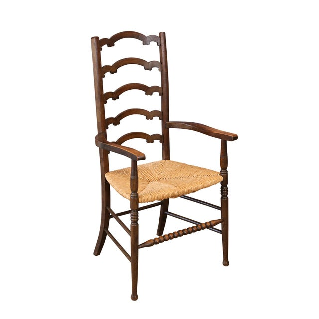 Unique Ladder-Back Chairs For Sale In Houston - Image 6 of 7