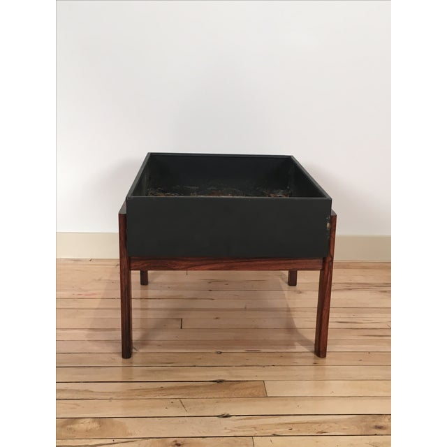 Danish Modern Rosewood Planter - Image 3 of 4