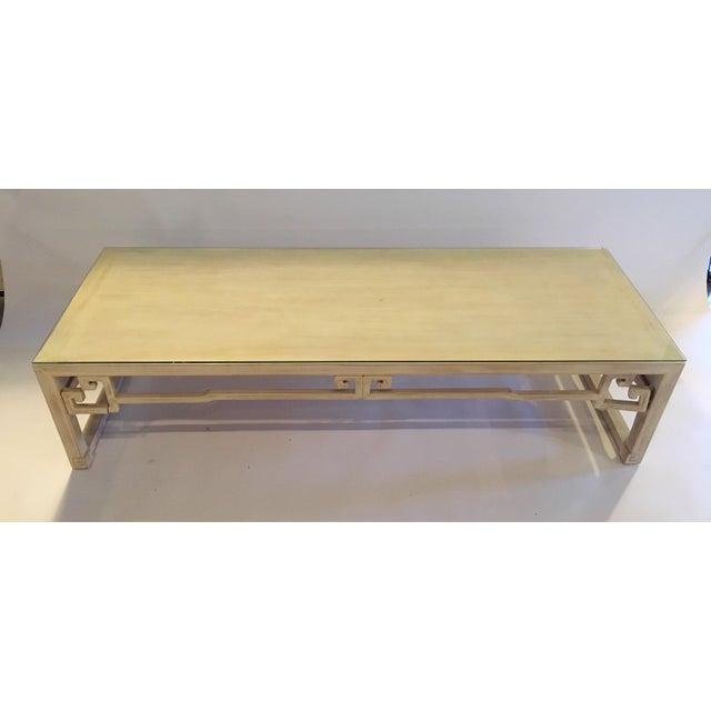 Vintage Keyhole Coffee Table - Image 4 of 7