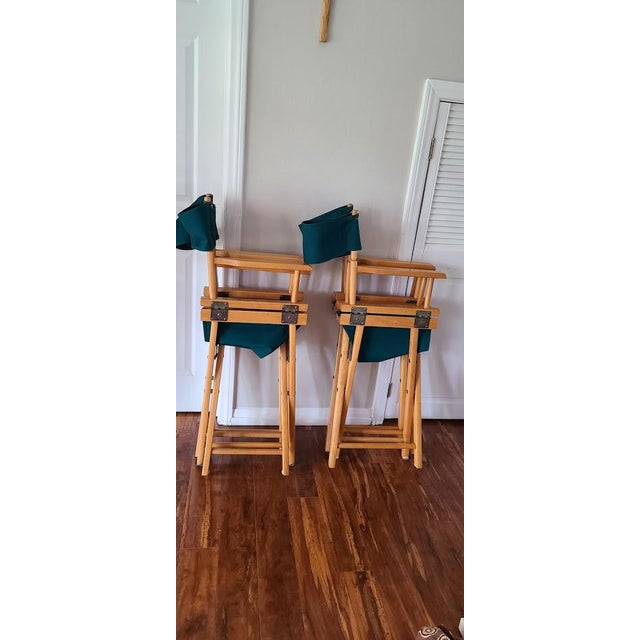 Late 20th Century Director's Chair For Sale - Image 9 of 11