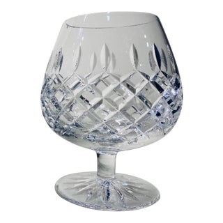 1960s Crystal Brandy Snifter Glass For Sale