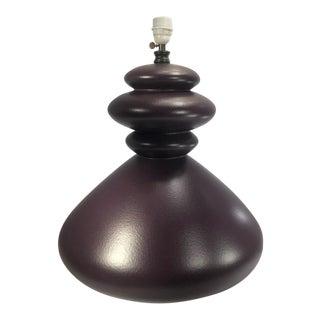 Vintage Jacques Molin for Faïencerie De Charolles Table Lamp For Sale