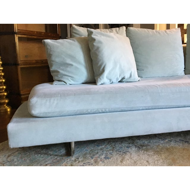 Vintage Mid Century Modern Sectional Couch B&b Italia Style For Sale In Nashville - Image 6 of 11