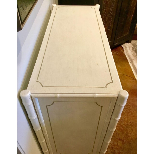 2010s Bungalow 5 Asian Modern White Penelope Four Drawer Dresser/Chest For Sale - Image 5 of 7