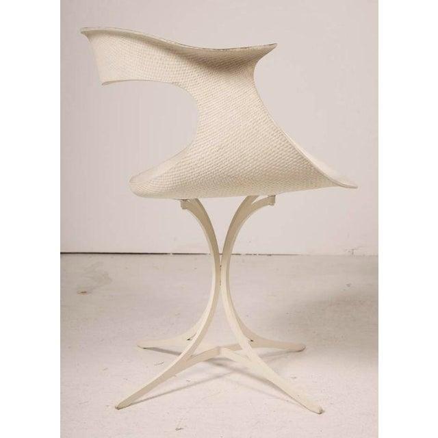 "1950s Erwine & Estelle Laverne Mod ""Lotus"" Armchair For Sale - Image 5 of 7"