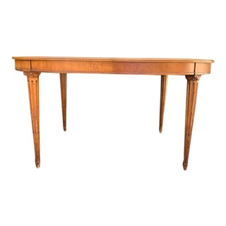 Mid 20th Century Henredon French Louis XVI Style Dining Table For Sale