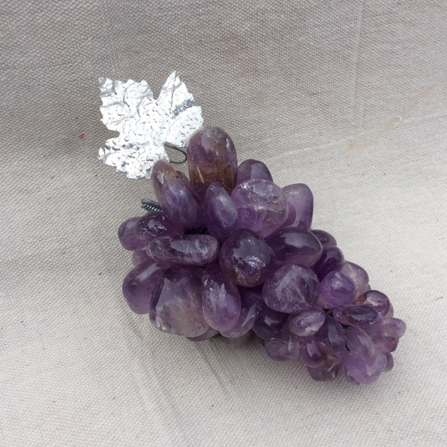Tumbled Amethyst Grape Cluster - Image 2 of 7