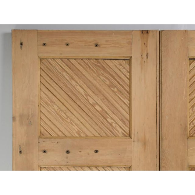 Wood 1890s Antique American Barn or Garage Doors For Sale - Image 7 of 13