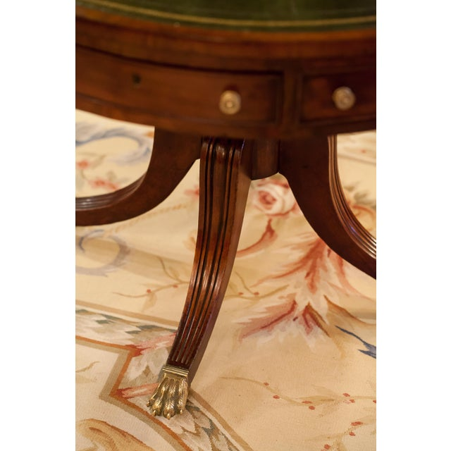 Metal Regency Drum/Rent Table, England Circa 1815 For Sale - Image 7 of 13