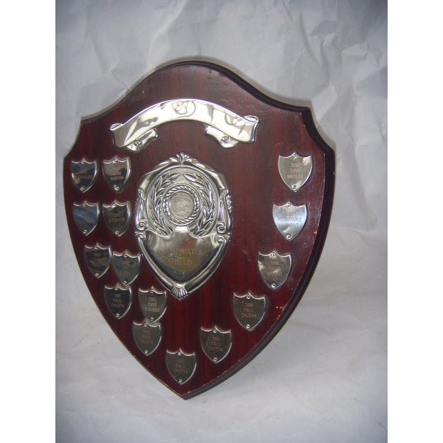 English Sports Trophy Plaque, Broadwater Sheild - Image 3 of 6