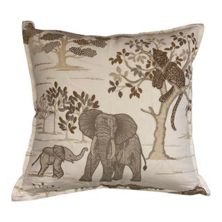 Travers Safara Embroidery Pillow For Sale